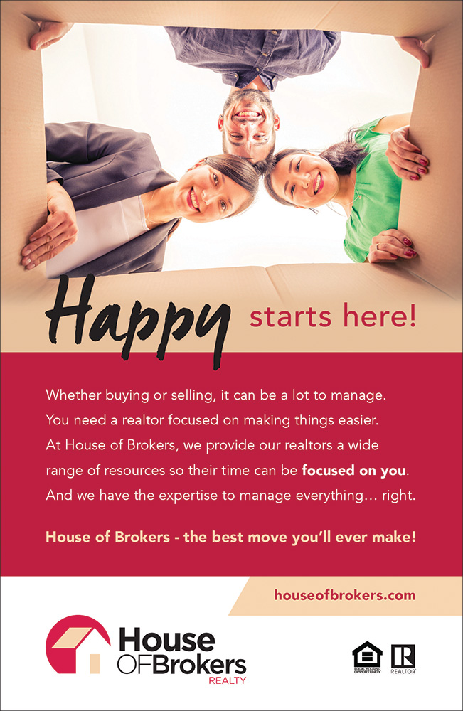 House of Brokers Print ad